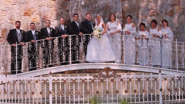 ceremony waterfall