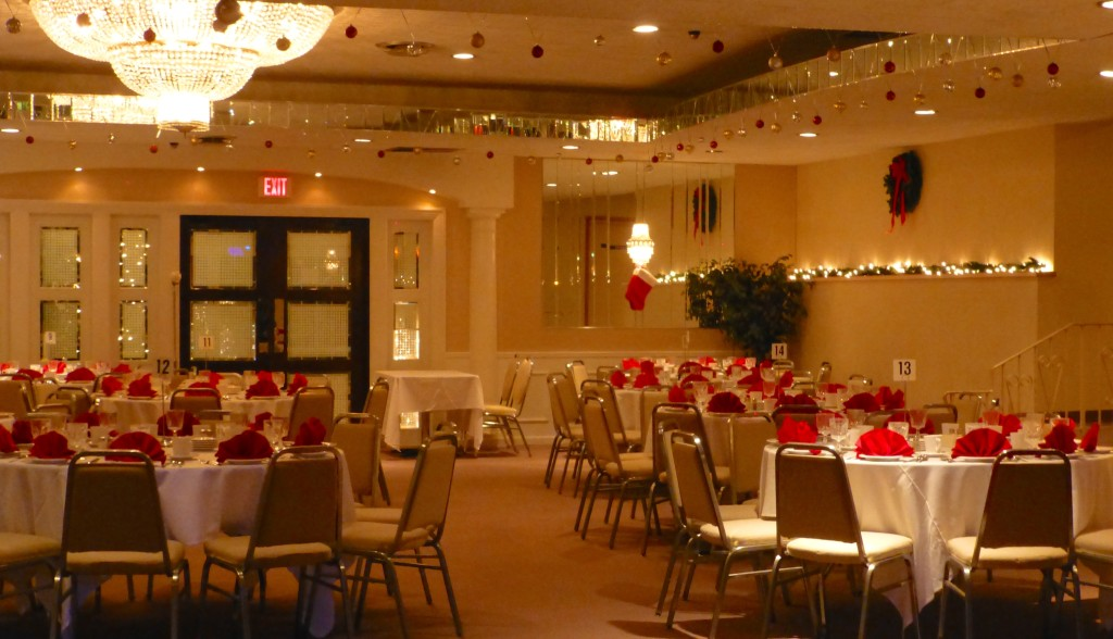 Wedding Room Decorations North East : Mirage room holiday decor la north haven